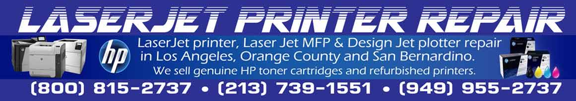 HP LASER JET REPAIR/SERVICE   LASERJET PRINTER REPAIR