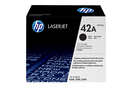 42A toner LaserJet 4240, 4250, 4350 printer